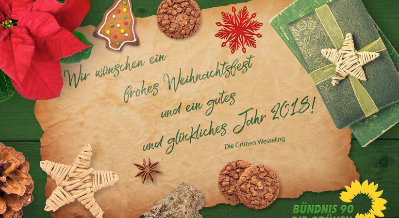 Wir wünschen Ihnen schöne Weihnachtstage und einen guten Rutsch ins ...