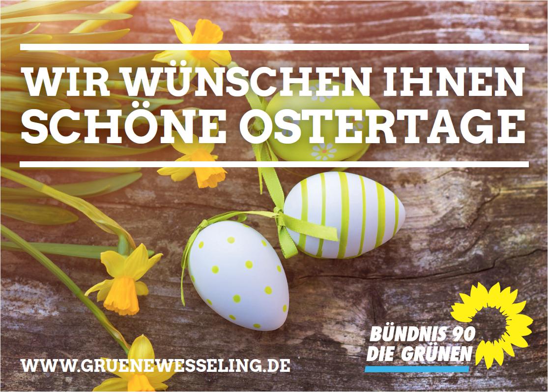 Gruener Ostergruss